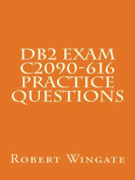 DB2 Exam C2090-616 Practice Questions