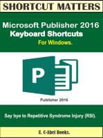 Microsoft Publisher 2016 Keyboard Shortcuts For Windows