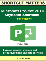 Microsoft Project 2016 Keyboard Shortcuts For Windows