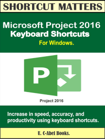 Microsoft Project 2016 Keyboard Shortcuts For Windows