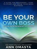 Be Your Own Boss as an Independent Author