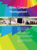 Sales Content Management Complete Self-Assessment Guide