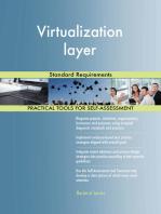 Virtualization layer Standard Requirements