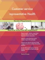 Customer service representative Health Standard Requirements