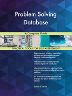 Problem Solving Database A Complete Guide