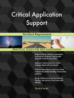 Critical Application Support Standard Requirements