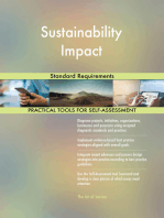 Sustainability Impact Standard Requirements