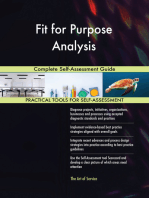 Fit for Purpose Analysis Complete Self-Assessment Guide