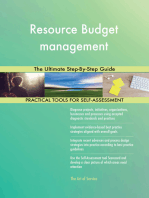 Resource Budget management The Ultimate Step-By-Step Guide