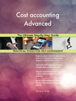 Cost accounting Advanced The Ultimate Step-By-Step Guide
