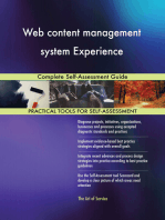 Web content management system Experience Complete Self-Assessment Guide