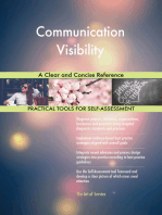 Communication Visibility A Clear and Concise Reference