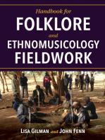 Handbook for Folklore and Ethnomusicology Fieldwork