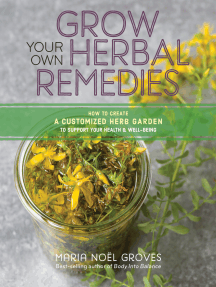Grow Your Own Herbal Remedies: How to Create a Customized Herb Garden to Support Your Health & Well-Being
