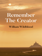 Remember the Creator