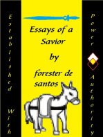 Essays of a Savior