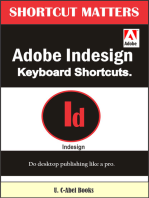 Adobe InDesign Keyboard Shortcuts