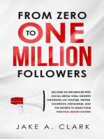 From Zero to One Million Followers in 2019