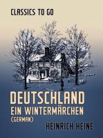 Deutschland Ein Wintermärchen (German)