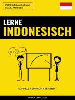 Lerne Indonesisch