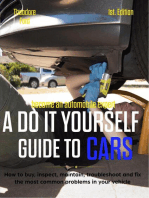 Become an automobile expert A do it yourself guide to cars 1st Edition