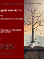 The Complete Horatius Bonar Bible Commentary Series 1-5