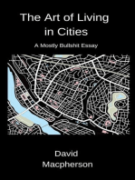 The Art of Living in Cities