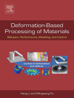Deformation-Based Processing of Materials