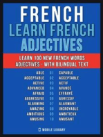 French - Learn French - 100 Words - Adjectives
