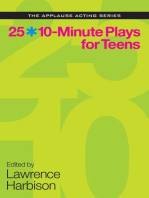 25 10-Minute Plays for Teens