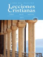 Lecciones Cristianas libro del maestro trimestre de verano 2019
