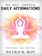 365 Most Powerful Daily Affirmation
