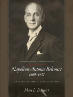 Napoléon-Antoine Belcourt: Un Grand Canadien - A Great Canadian