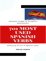 701 Most Used Spanish Verbs in Example Sentences