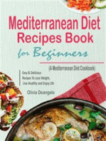 Mediterranean Diet Recipes Book For Beginners
