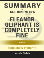 Summary of Eleanor Oliphant Is Completely Fine