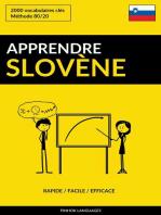 Apprendre le slovène