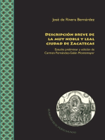 Descripción breve de la muy noble y leal ciudad de Zacatecas