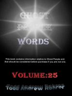 Ghost People Words