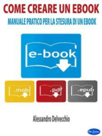 Come Creare un Ebook