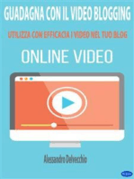Guadagna con il Video Blogging
