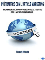 Più Traffico con L'Article Marketing