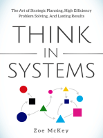 Think in Systems: The Art of Strategic Planning, Effective