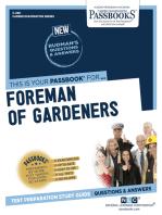 Foreman of Gardeners