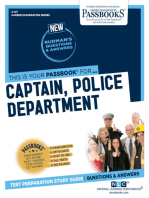 Captain, Police Department