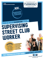 Supervising Street Club Worker