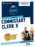 Commissary Clerk II