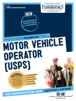 Motor Vehicle Operator (U.S.P.S.)