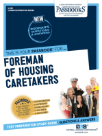 Foreman of Housing Caretakers