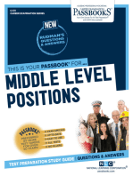Middle Level Positions